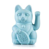 Chat Maneki-neko porte-bonheur Lucky Cat, bleu