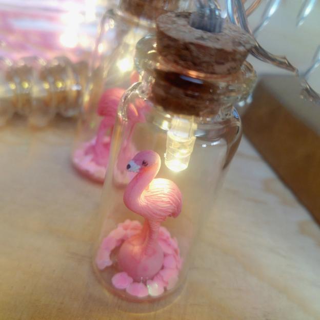 Lichterkette Mini Lights Flamingo