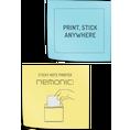 Nemonic Post-IT Papier blau