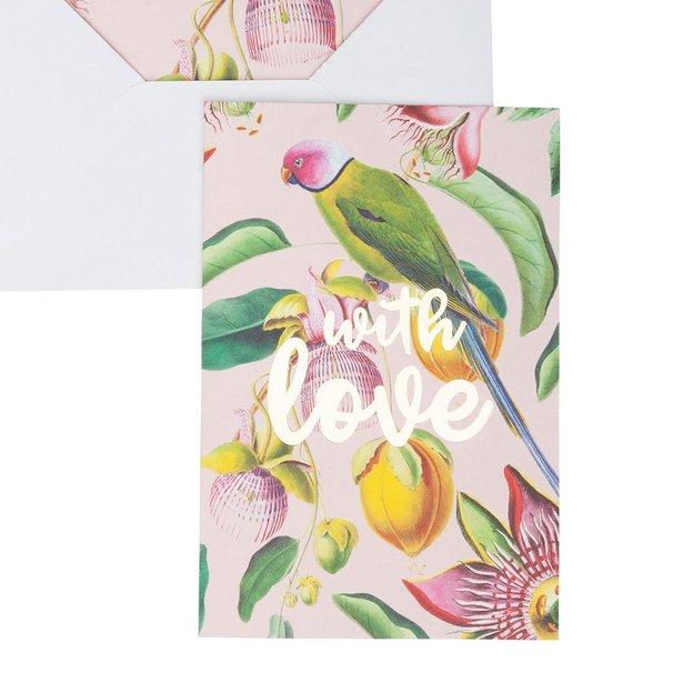 Carte de vœux Botanic Garden Love