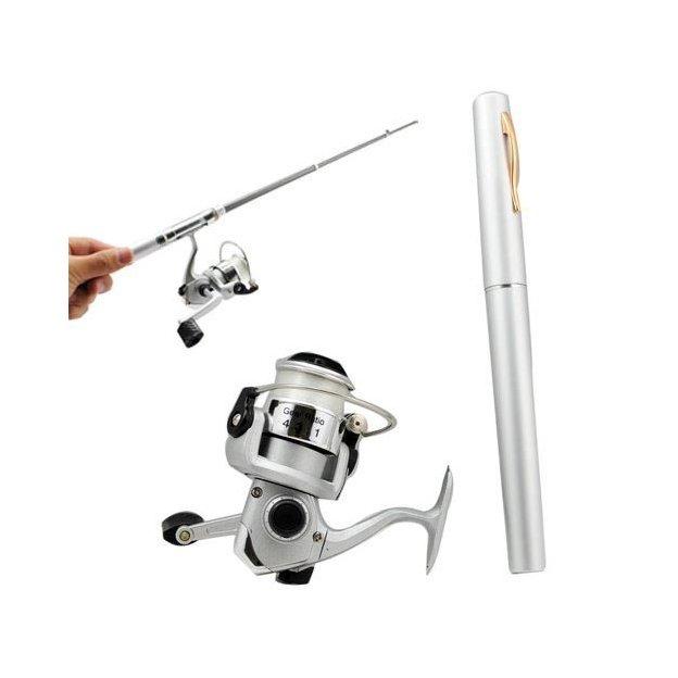 Canne à pêche stylo télescopique
