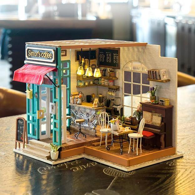 DIY Miniatur Holzhaus - Simon's Kaffee