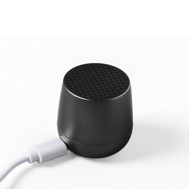 Lexon Mini Bluetooth Speaker Schwarz