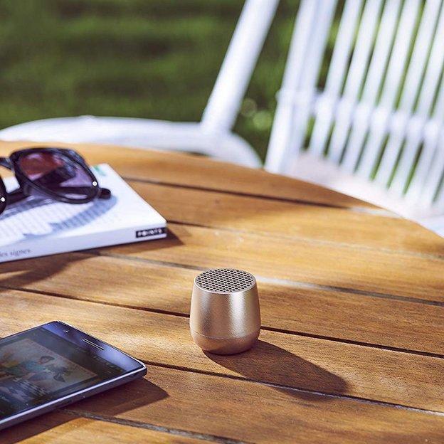 Mini-haut-parleur Bluetooth Lexon Gold