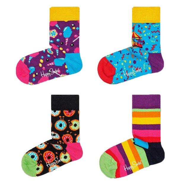 Coffret cadeau chaussettes pour enfant Carrousel HappySocks, 2-3 ans