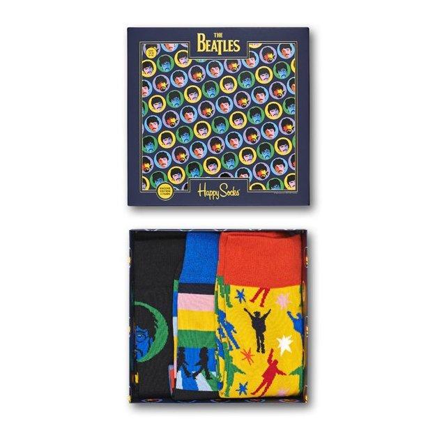 HappySocks Geschenkbox Beatles 3-er 41-46