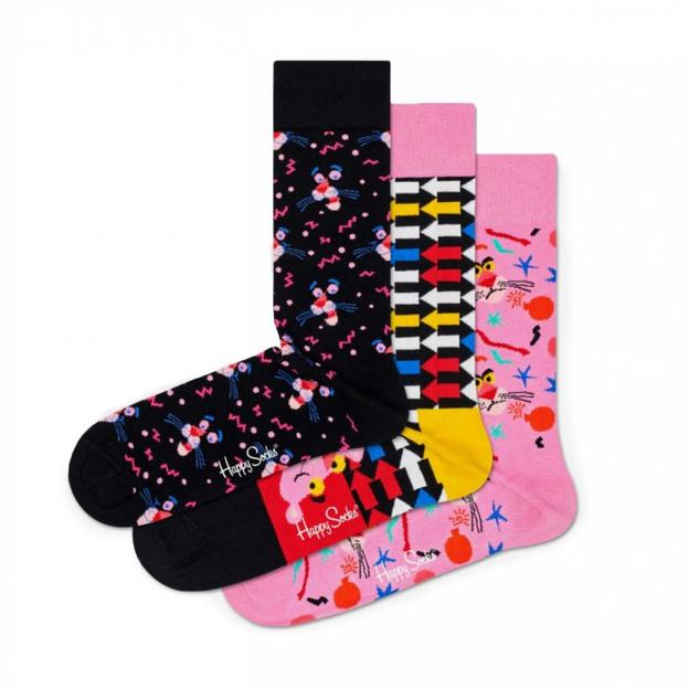 HappySocks Geschenkbox 3-Pack Pink Panther 36-40