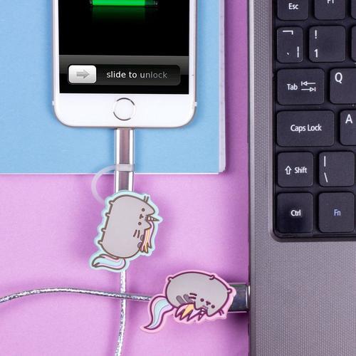Pusheen Einhorn - 2in1 USB Ladekabel