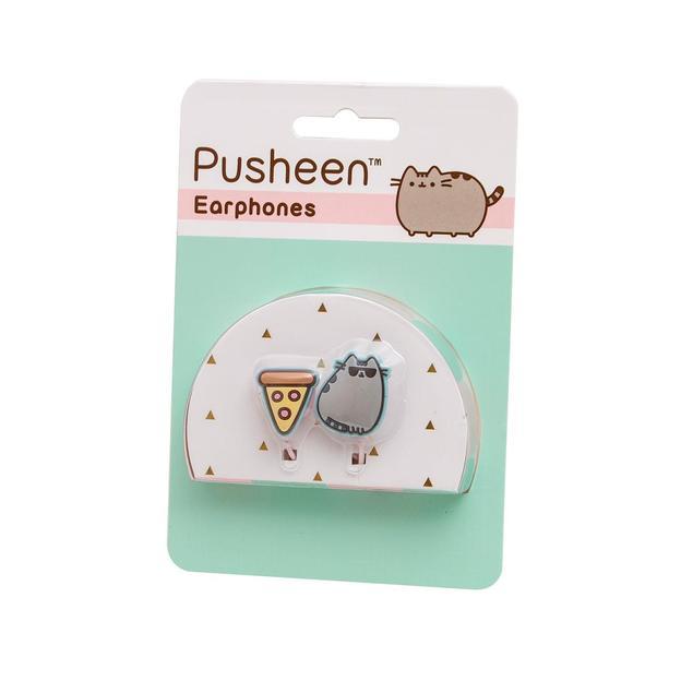 Pusheen Tech - Ecouteurs InEar Chat et Pizza