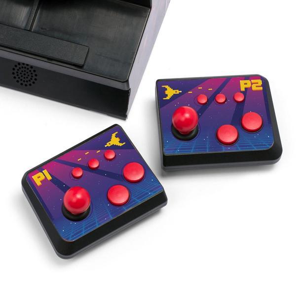 Mini machine à jeux d'acade ORB avec 2 manettes