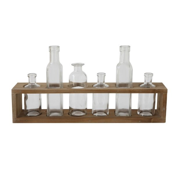 Bloomingville Vasen Set transparent 7-tlg