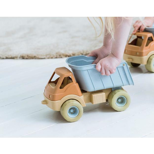 Camion jouet en bioplastique