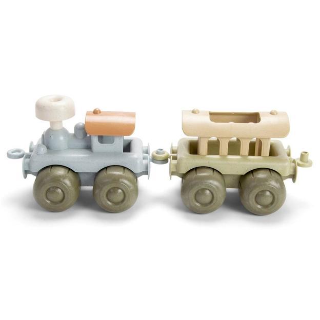 Locomotive en bioplastique