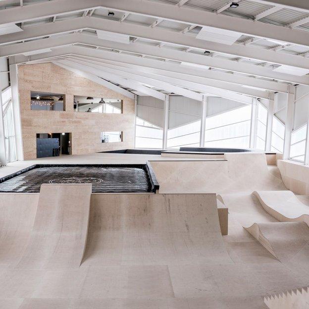Skatepark indoor à l'Alaïa Chalet à Crans-Montana, enfant jusqu'à 16 ans (120 min)