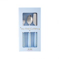 Couverts pour enfant Rice My First Cutlery, bleu