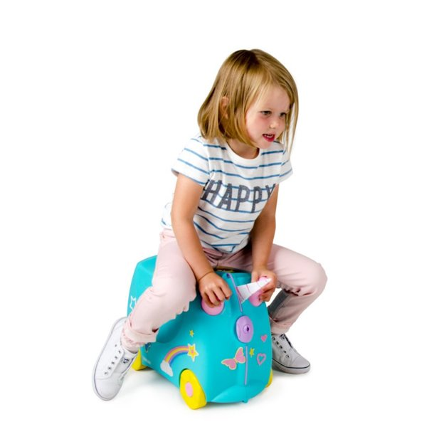 Trunki Una Unicorn - Reisekoffer für Kinder