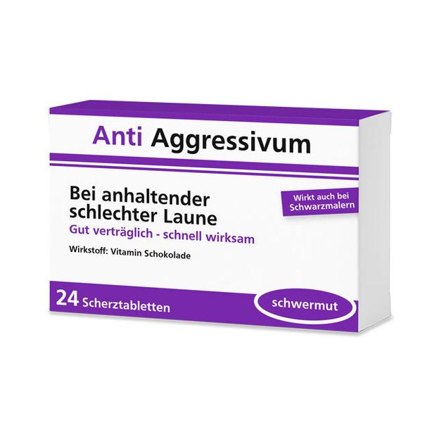 Anti Aggressivum - 24 Schokolinsen