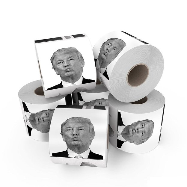 Donald Trump Toilettenpapier 3er-Set