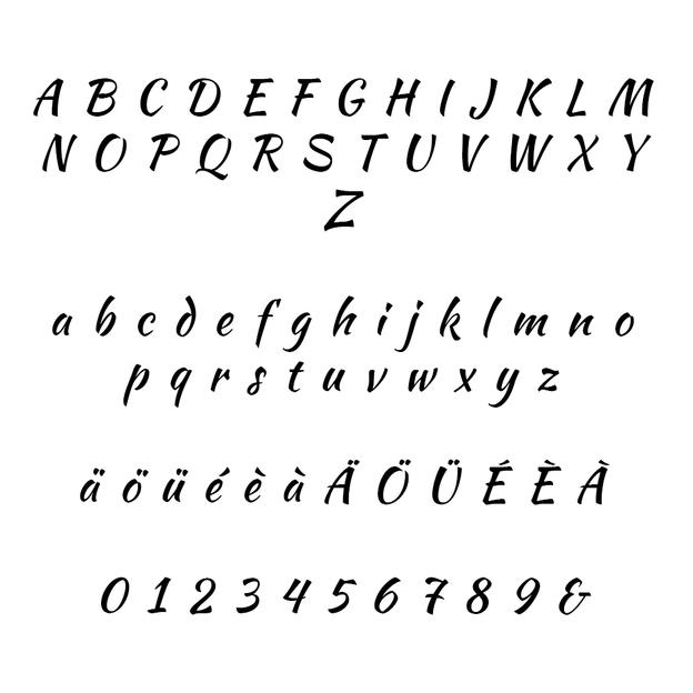 Panneau en bois personnalisé avec dates