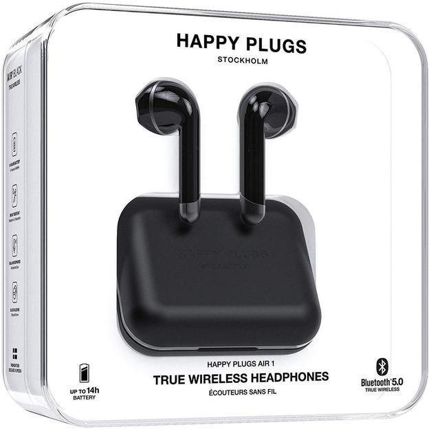 Happy Plugs AIR 1 – True Wireless noir