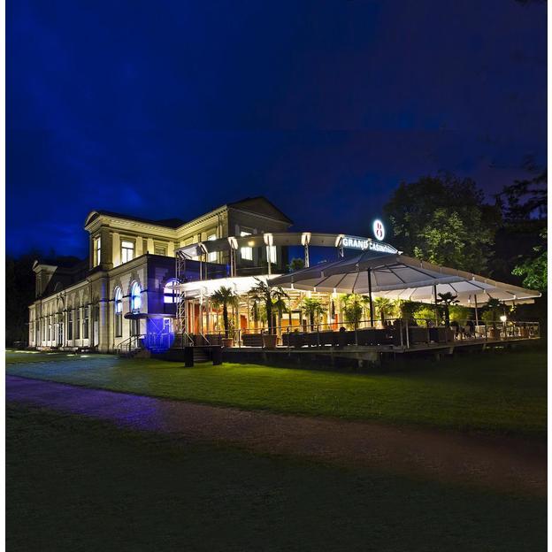Nuit & menu 3 services à Baden avec entrée au Grand Casino (pour 2 personnes)