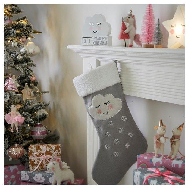 Déco Nuage, compte à rebours avant Noël