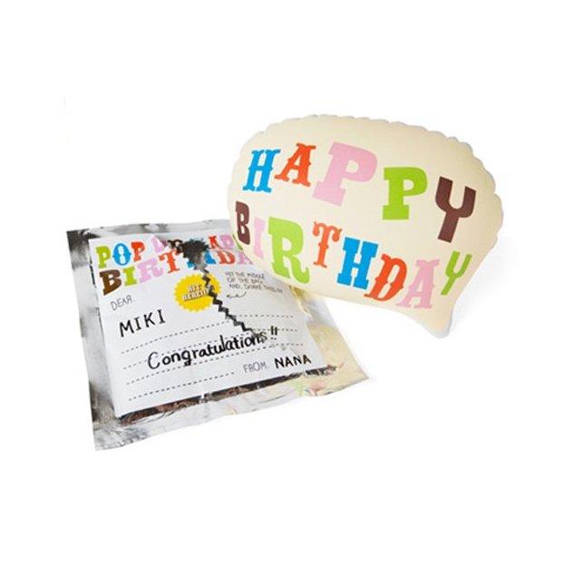 Ballon Pop up Happy Birthday