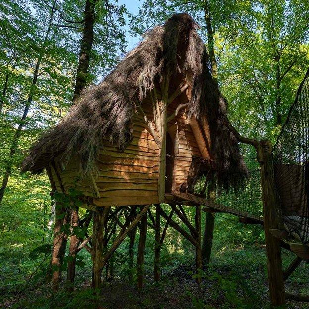 1 nuit romantique et insolite dans les arbres dans la cabane Rêves des Fées ( 2 pers.)