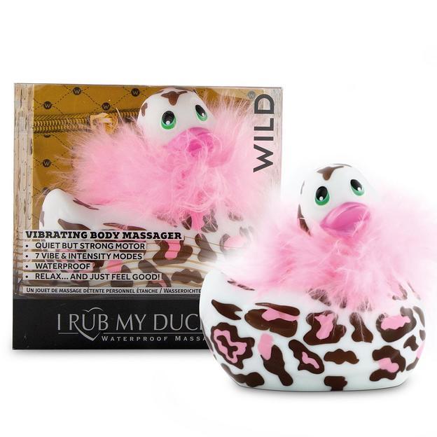 Auflegevibrator I Rub My Duckie 2.0 Wild Panther