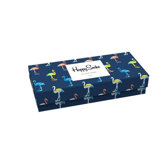 HappySocks Navy Geschenkbox 41-46