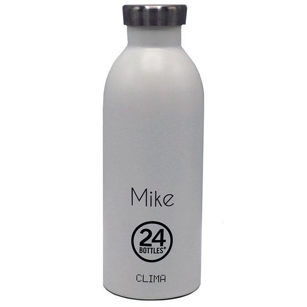 Personalisierbare 24Bottles Trinkflasche Clima 500ml White