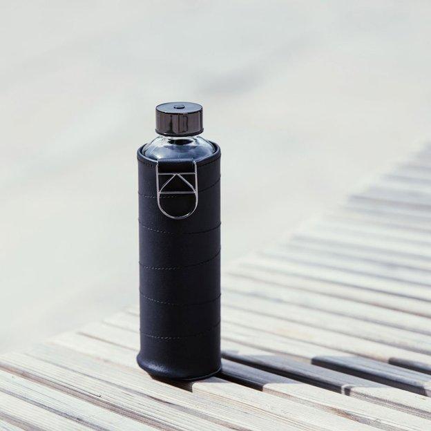 Bouteille personnalisée Equa Mismatch Graphite, 750 ml