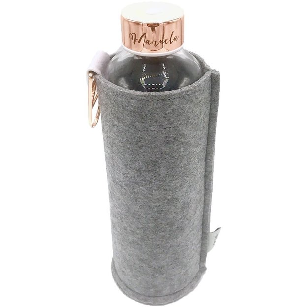Bouteille personnalisée Equa Mismatch Rose, 750 ml