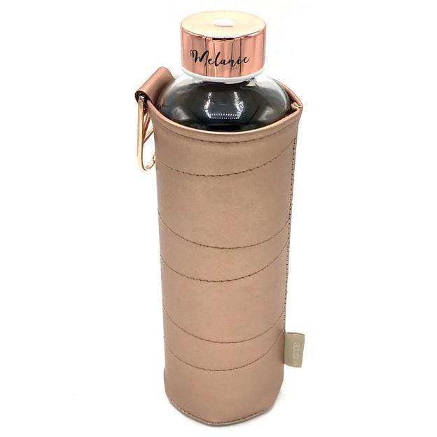 Personalisierbare Trinkflasche Equa, Mismatch Bronze 750ml
