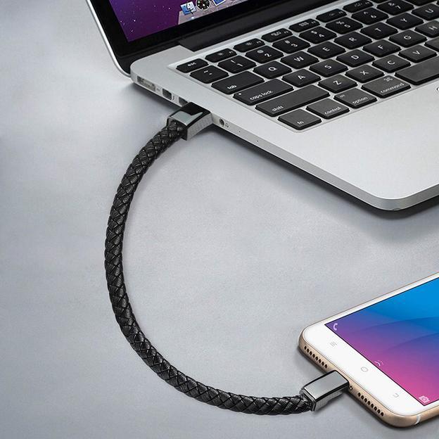 Personalisierbares Armband Ladekabel USB C