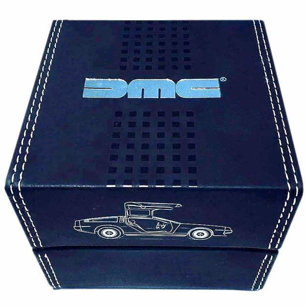 Offiziell lizenzierter DMC DeLorean 1981 Black Chronograph