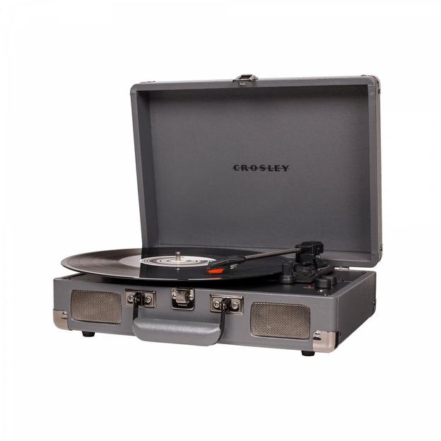 Tourne-disque Crosley Cruiser Deluxe gris