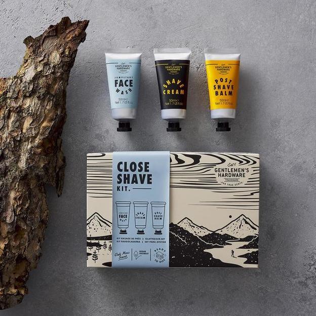 Gentlemen's Hardware Kit de rasage de près