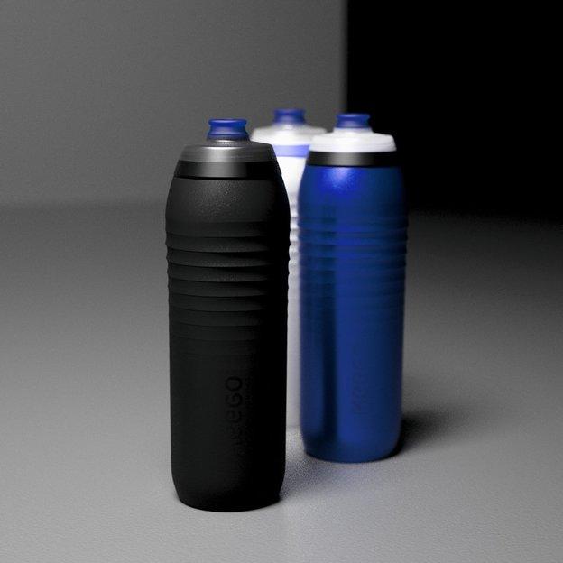 KEEGO Sport Titanum Trinkflasche schwarz