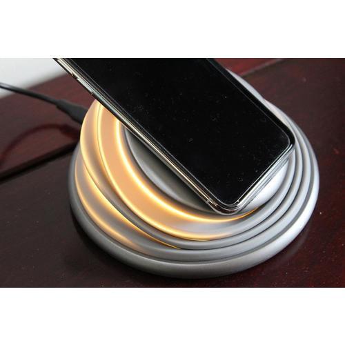 Wireless Charger - Induktive Ladestation mit LED Licht