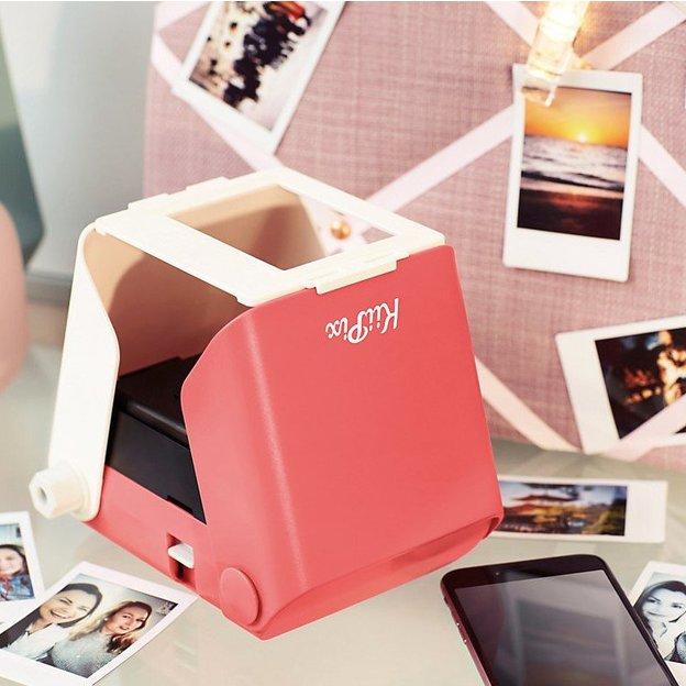 Imprimante Kiipix pour smartphone, photo instantanée pink
