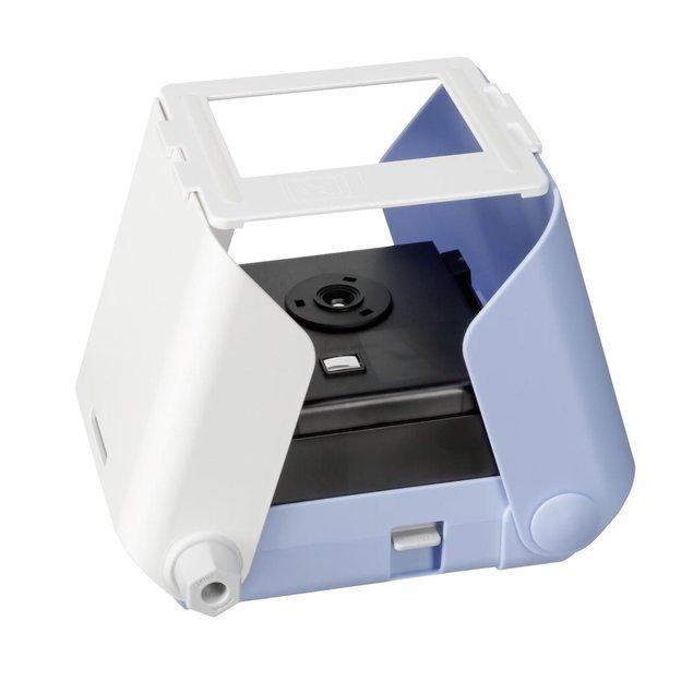 Imprimante Kiipix pour smartphone, photo instantanée bleu
