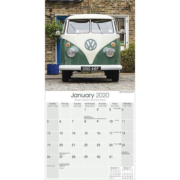 Campervan Coussin Personnalisé VOLKSWAGEN VW Camping-car Cadeau Fête Anniversaire Neuf