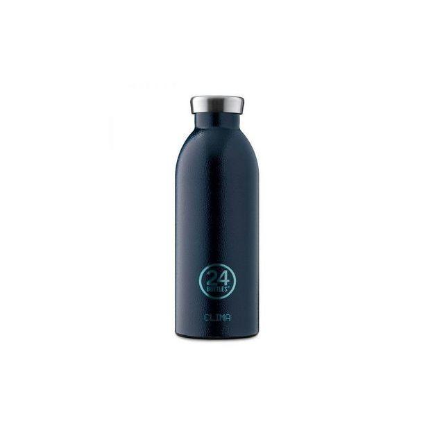 24Bottles Bouteille personnalisée Clima 500 ml Deep Blue