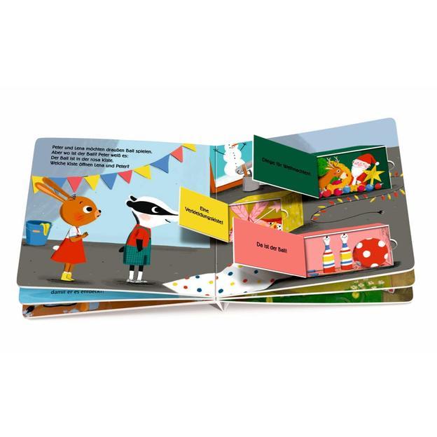 Mein kunterbuntes Farbenbuch - mit vielen Klappen
