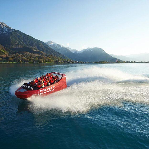 Jetboat Bootstour in Interlaken (für 1 Person)