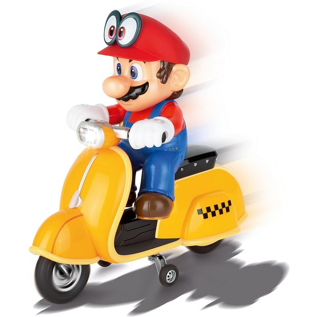 RC Mario Scooter Odyssey 1:20