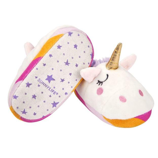 Sunnylife Einhorn Hausschuhe für Kinder, 3-5 Jahre