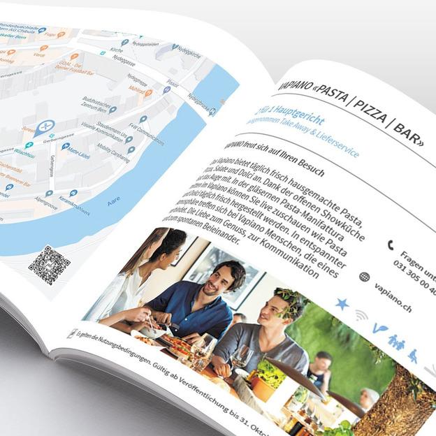 Prozentbuch Bern Gutscheinbuch 2020