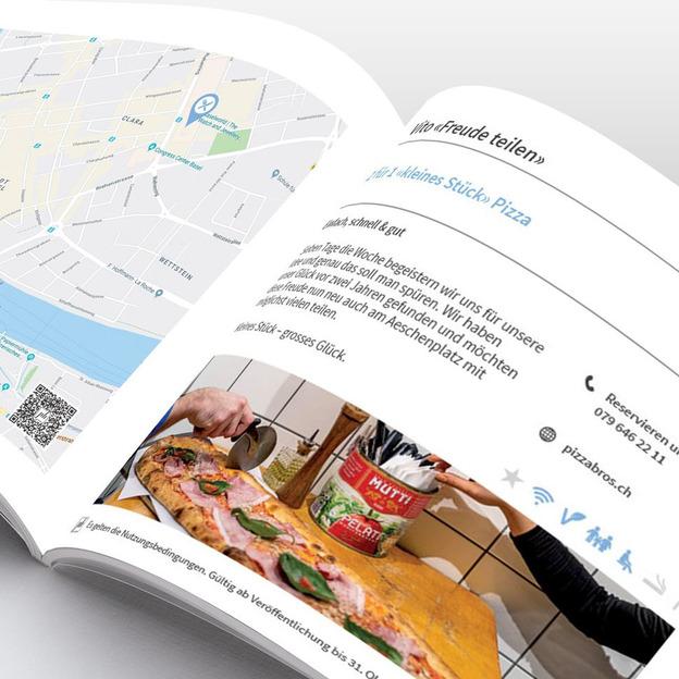 Prozentbuch Basel Gutscheinbuch 2020